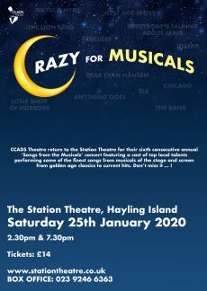 CRAZY FOR MUSICALS